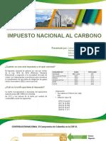 DIAPOSITIVAS IMPUESTO NACIONAL AL CARBONO 1