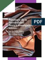 Psicología de la personalidad; teoría e investigación. Volumen I - José Bermúdez Moreno