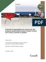 Potentiel de séquestration du Carbone par des pratiques agroforestières