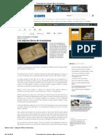 Economía-Los mejores libros de inversiones, Articulo OnLine