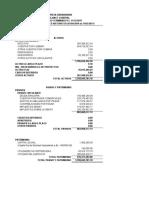 Modelo Calculo Estados Financieros