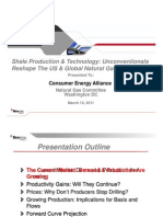 Shale Production & Technology - Bentek Presentation to CEA Natural Gas Committee