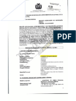 Imputación contra Iván Arias