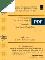 Curso básico de derecho procesal 2