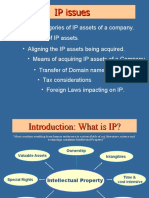 Due diligence-Intellectual property