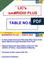 LIC Samridhi Plus