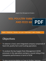 Case Study - Operations Management - Broiler Farm Supply Chain