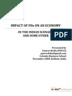 Paper on FII