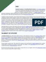 COMMAND & MARKET ECONOMY