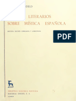 016 Hatzfeld, Helmut Anthony - Estudios literarios sobre mística española