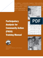 Peace Corps Participatory Analysis for Community Action Trainer's Manual