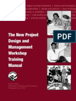 Peace Corps New Project Design and Management Workshop Training Manual