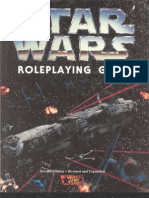 WEG40120 - Star Wars - Star Wars Role Playing Game, Second Edition, Revised and Expanded