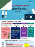 Penjelasan OJT Dan Evaluasi Neonatal 2021