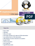 CRM implementation- a six sigma way