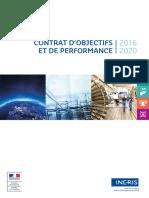 Ineris Contrat Objectifs 2016 2020