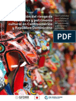 GRD y Patrimonio Cultural en Centroamérica y Republica Dominicana