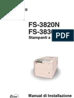 Manual FS-3820N