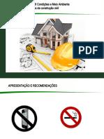 TREINAMENTO NR- 18 Condições e Meio Ambiente de Trabalho na Indústria da construção civil