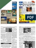 "Kuta Weekly-Edition 224 ""Bali""s Premier Weekly Newspaper"""