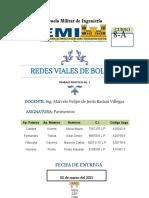 Trabajo Practico No. 1 Redes Viales de Bolivia (1)