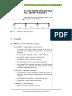 O13_Exemple_4_Poutre mixte continue de 3 travées – section de classe 2