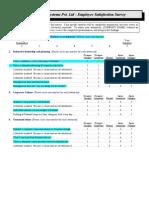 Emp Evaluation Survey