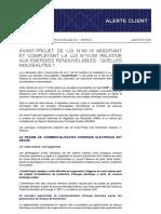 Projet Loi 4019 Analyse