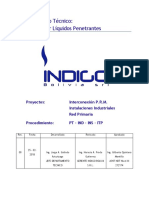 Indigo_Procedimiento Técnico Inspección Por Líquidos Penetrantes