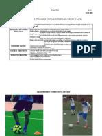 fotbal-preluare cu latul