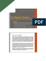 Lezione 1 - Lo Spirito Santo Nella Tradizione Latina Del II Millennio 2021