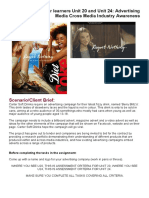 assignment brief - blog