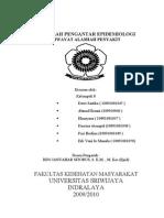 makalah epidemiologi kelompok 8