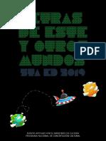 Letras de Este Y Otros Mundos 5ta Ed 2019 Maqueta Final
