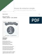 A la flauta! Partituras de notacion simple_ Todos Juntos - Los Jaivas
