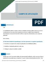 CAMPO DE APLICACAO