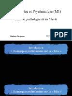 Philosophie et psychanalyse - 20.01