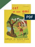 Langue Francaise Lecture Poucet Et Son Ami 1956 Methode de Lecture Mixte