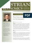 Austrian Economics Newsletter Spring 2003
