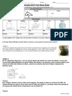 Unit 8 Test - Study Guide Espanol