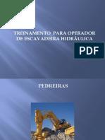 TREINAMENTO  PARA OPERADOR DE ESCAVADEIRA HIDRÁULICA