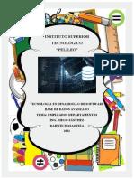 Disñeo programacion Empleados