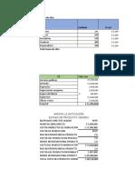 ejemplos de costos de materia prima