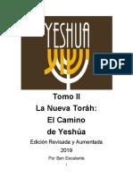 La Nueva Torah El Camino de Yeshua Tomo II