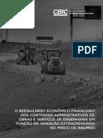 Cartilha Perguntas e Respostas Reequilibrio Economico–Financeiro Dos Contratos