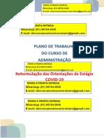 Administração Estágio Plano de Trabalho Do Curso de Administração Whatsapp (91) 98764-0830