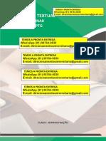 """Adminsitração 6º e 7º """"a Empresa """"Praticidade"""" WhatsApp (91) 98764-0830"""