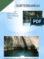 Diapositvas Aguas Subterraneas