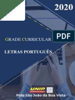 GRADE_LETRAS PORTUGUÊS 2020