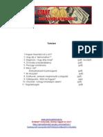 Pénzügyi Start tartalomjegyzék (2)